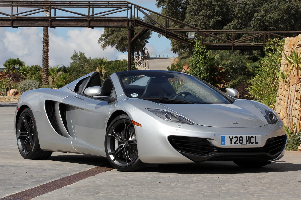 2013 McLaren MP4-12C Spider First Drive Photos