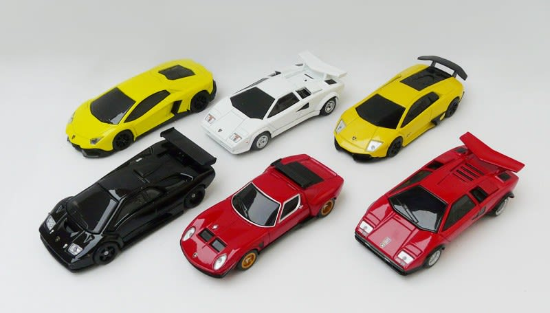 UCC Lamborghini 50th Anniversary Special Car Collection