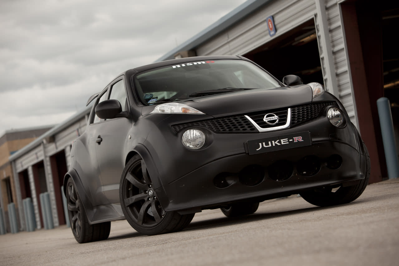 Nissan Juke-R Prototype 1 First Drive Photos