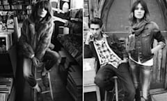Alexa Chung stars in Pepe Jeans London's Fall 2010 ad campaign.