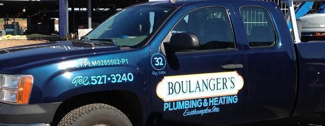 Blue Pickup Car, Air Conditioning Services in Easthampton, MA