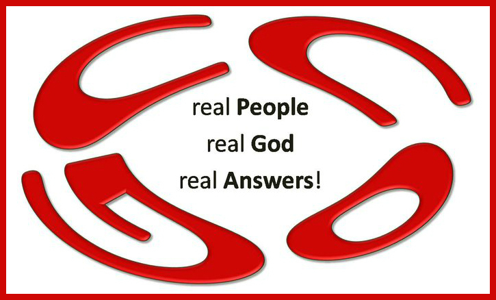 Real People, Real God, Real Answers!!!