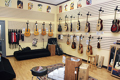 Guitar Room - Ukuleles, too!