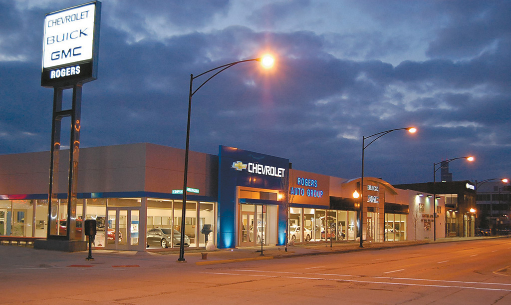 Rogers Auto Group Dealership Photo