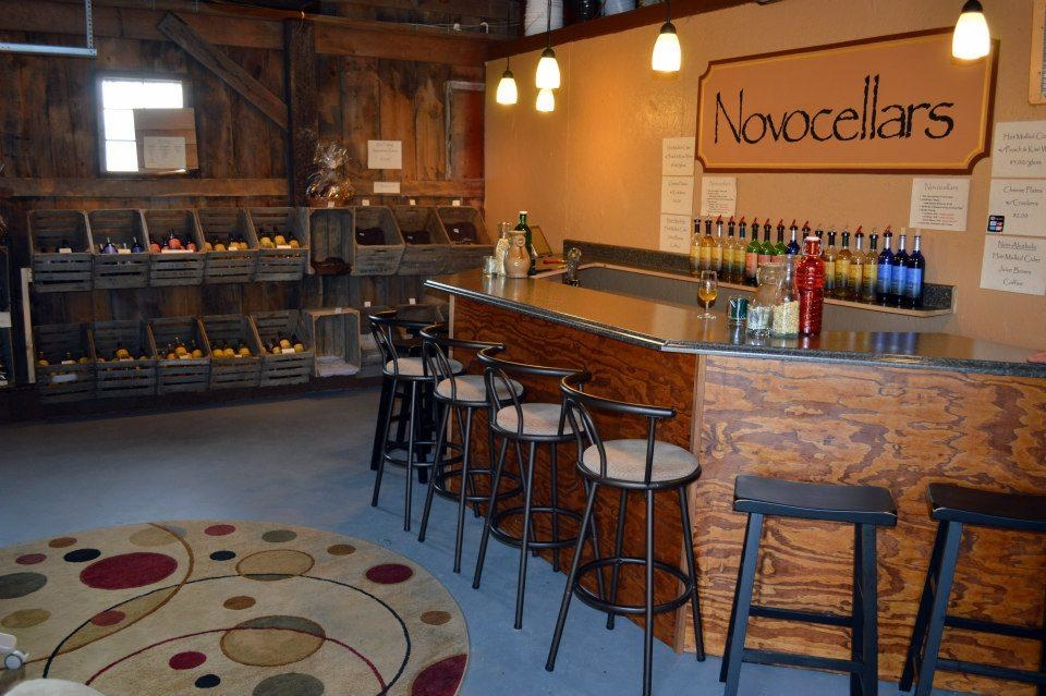 Nova Cellars Winery Tasting Bar