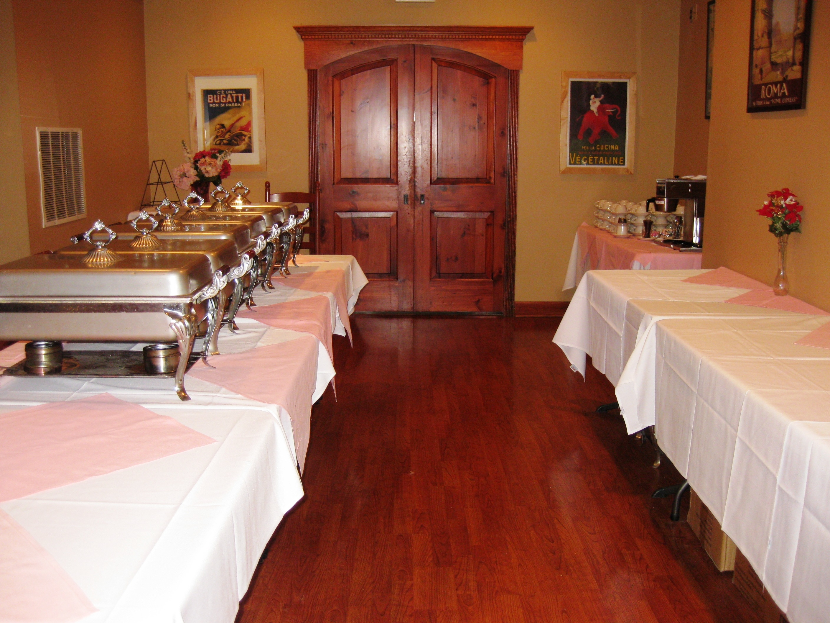Our buffet station are waiting for you