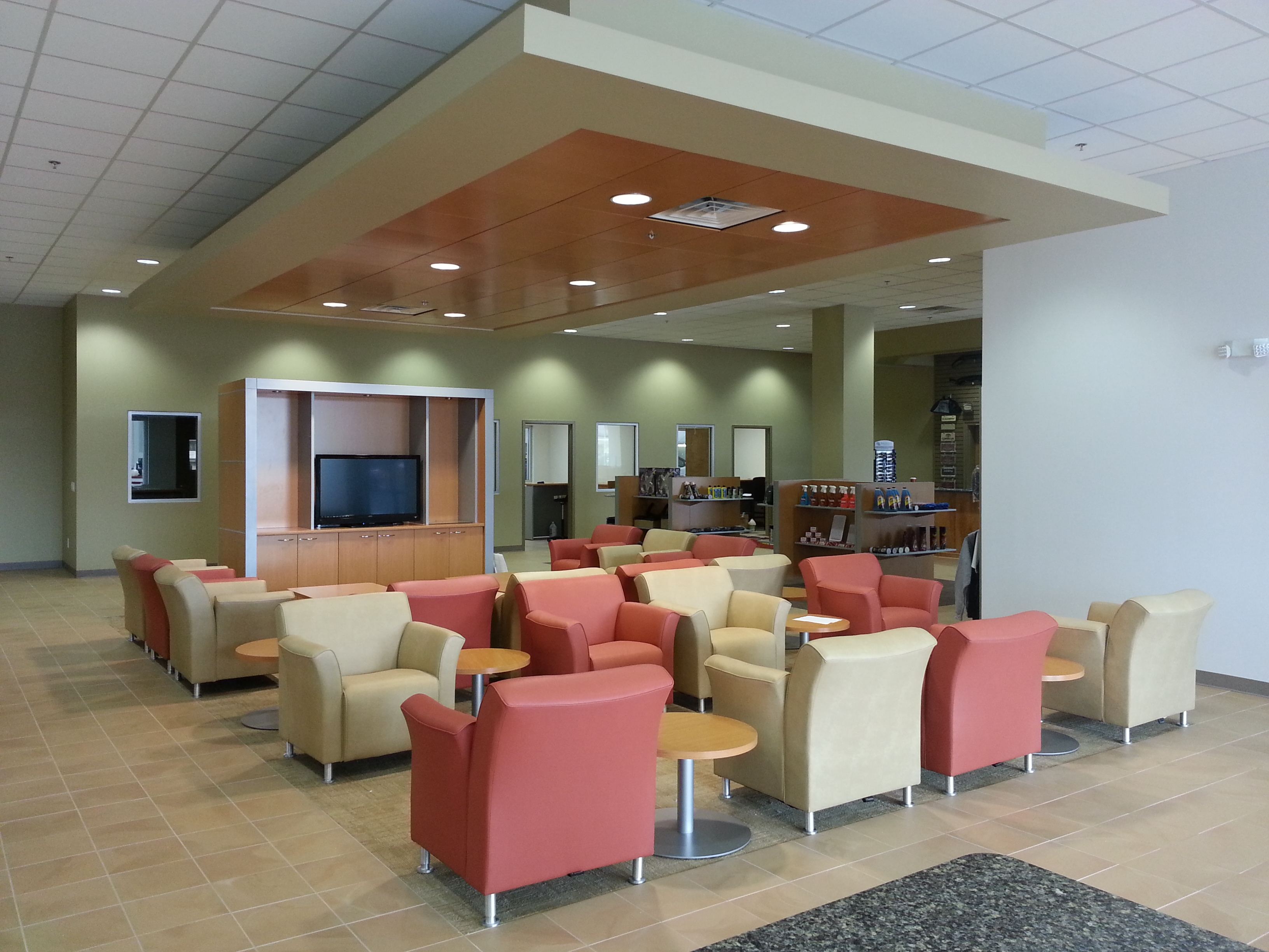 Toyota South Guest lounge