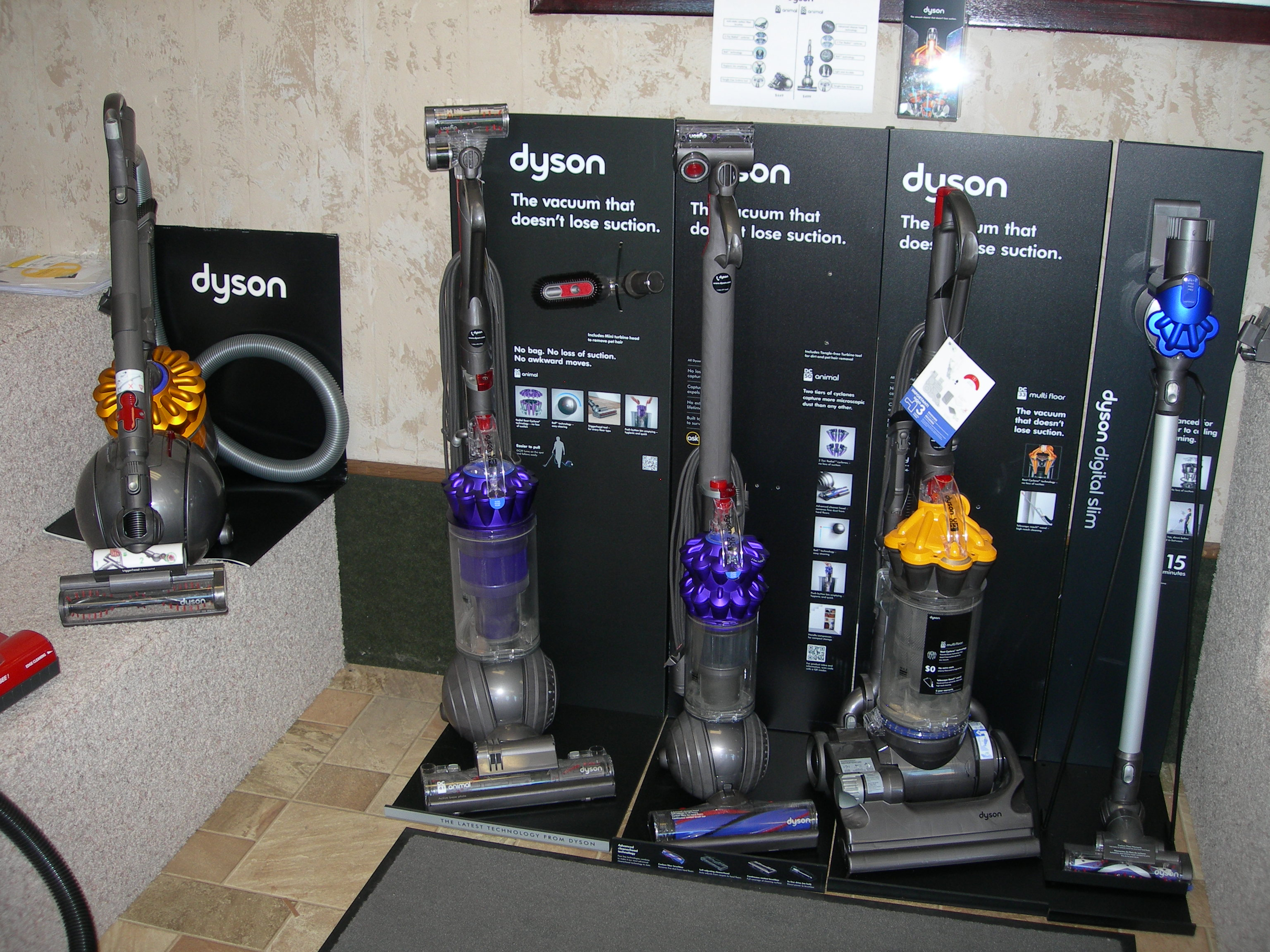 A-1 Showroom Floor - Dyson