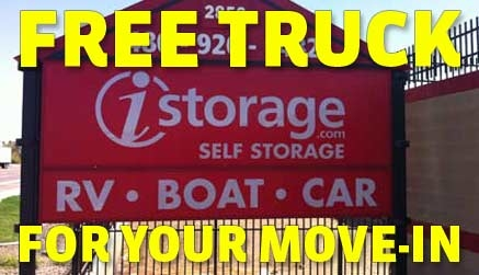 We offer a FREE truck for your move-in!