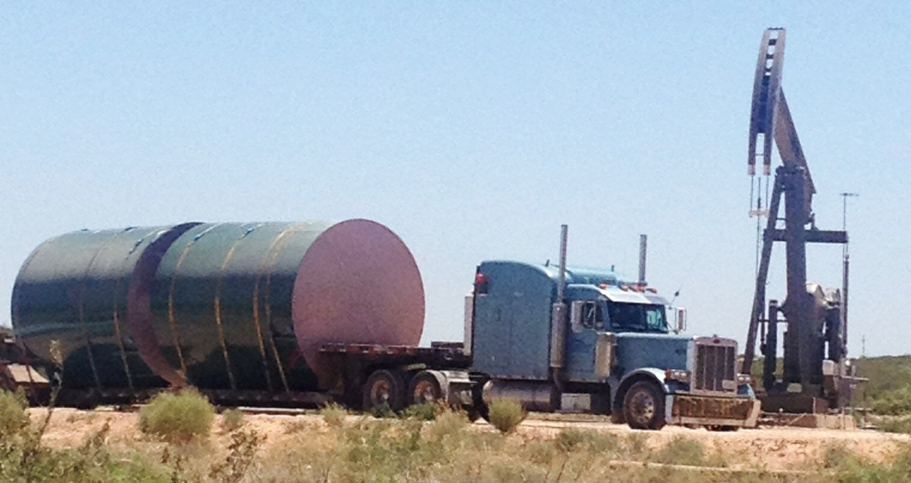 Tank Partners 400 BBL delivery to West Texas