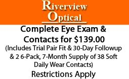 Complete Eye Exam & Contacts!