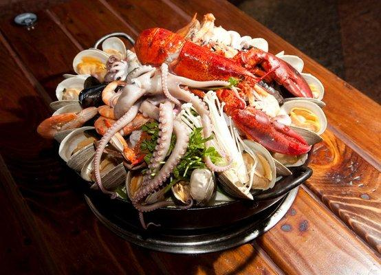 Seafood Hot pot~~!