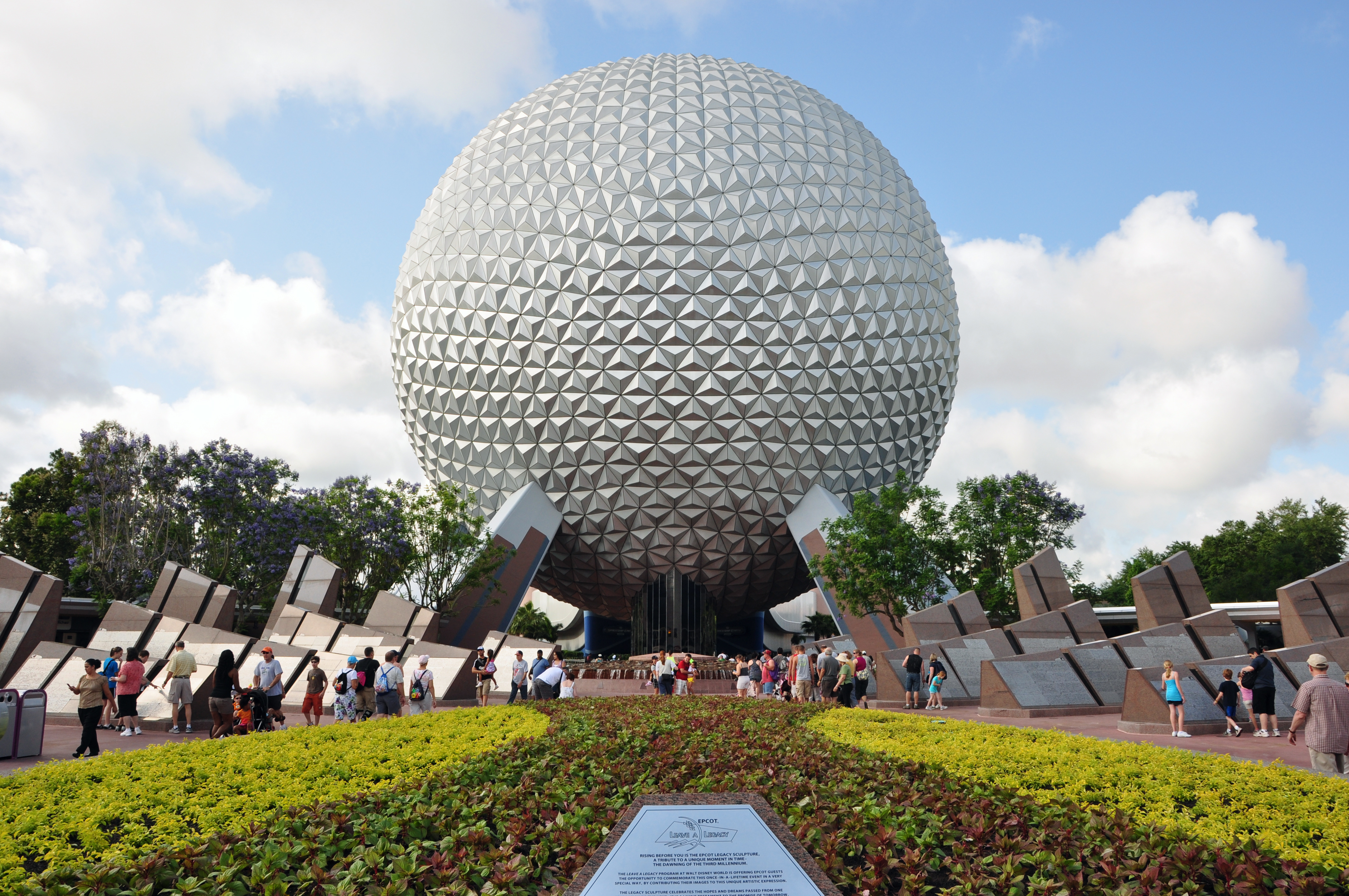 http://en.wikipedia.org/wiki/File:1_epcot_spaceship_earth_2010a.JPG