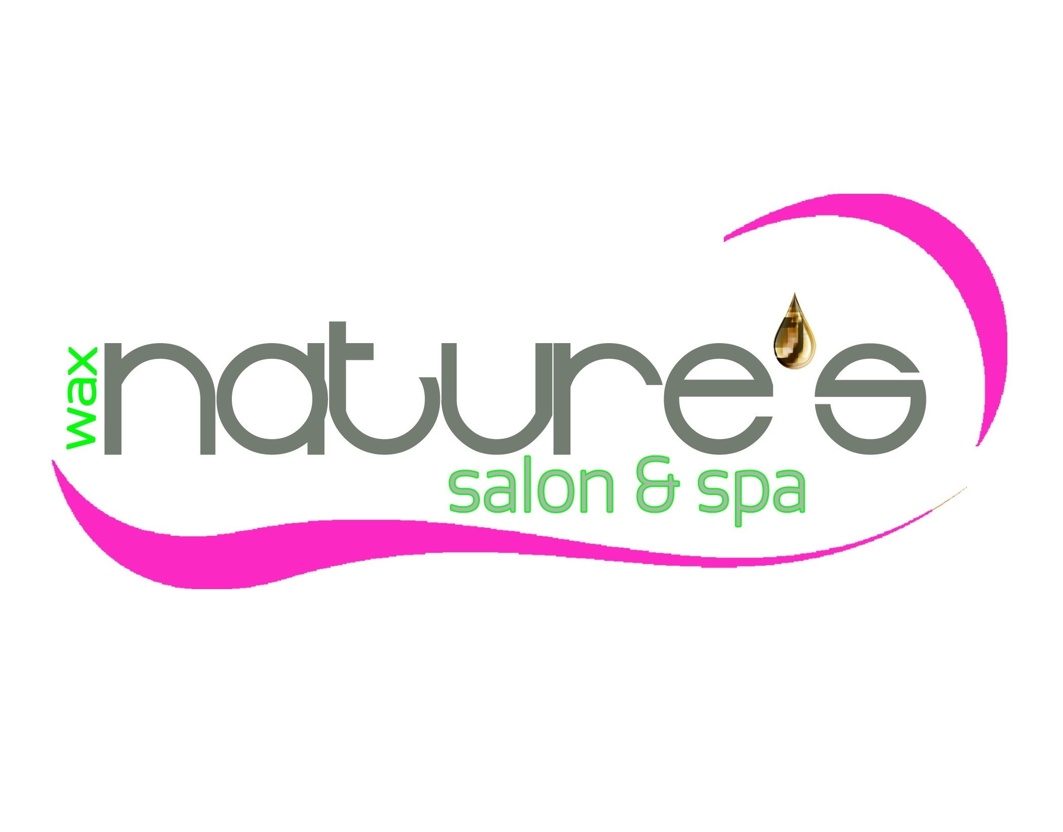 Nature's Wax and Spa logo