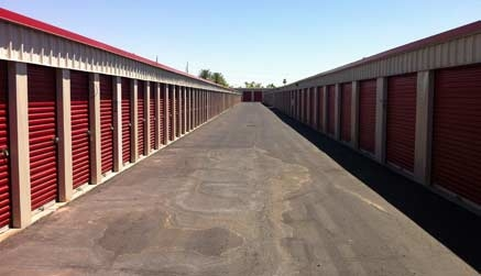 Our secure, clean storage facility.