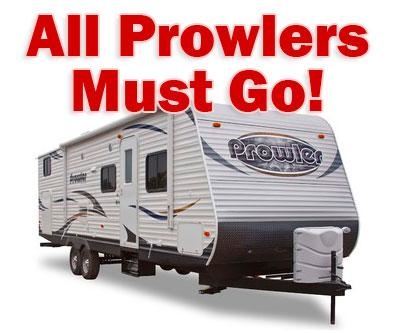 Special Discounts All Prowlers Must GO