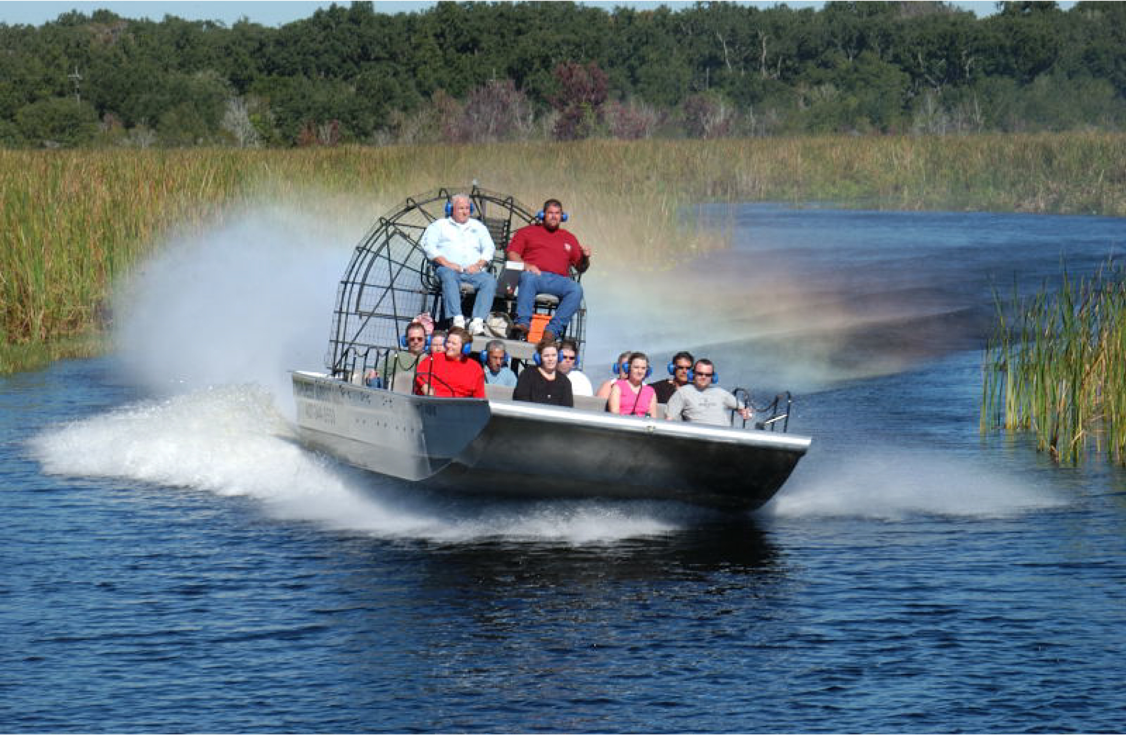 Airboat Ride into Central Florida Everglades