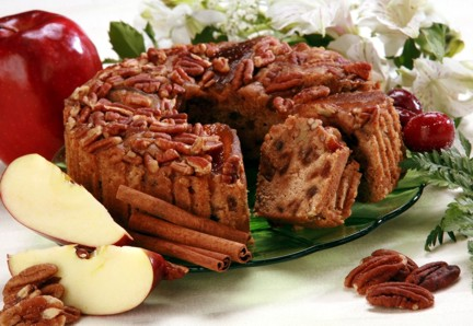 Apple Cinnamon Fruit cake