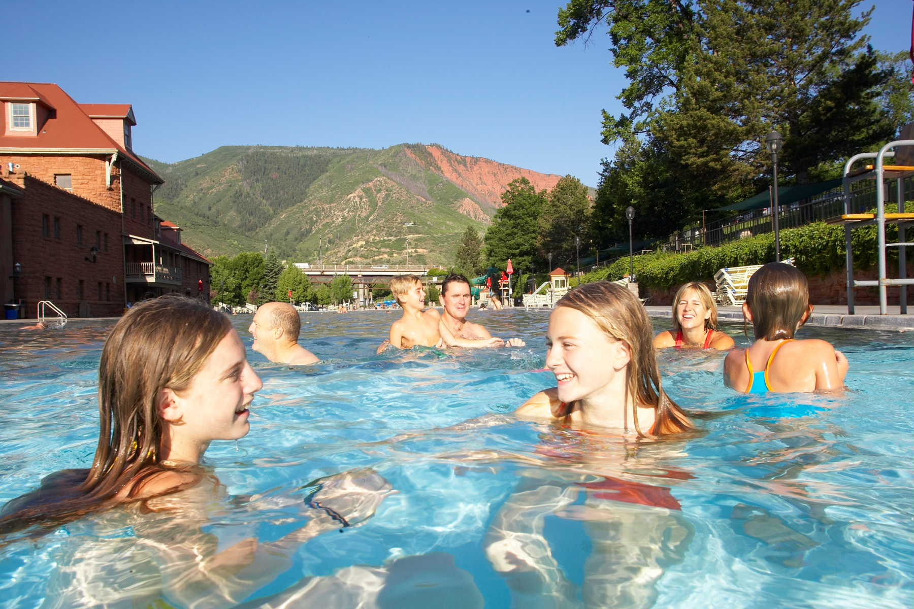 Hot Springs Pool Family Fun