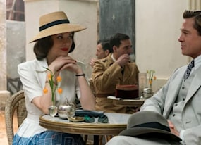 new allied teaser starring brad pitt and marion cotillard drops amid cheating rumors