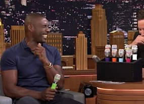 idris elba sings panda in a chipmunk voice and it s still sexy