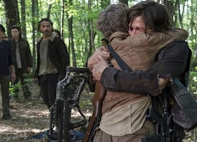 new walking dead season 7 spoilers are perfect for daryl and amp carol fans
