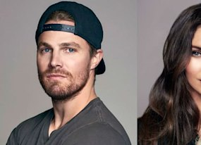 tmnt out of the shadows stars megan fox and amp stephen amell are smokin hot in our exclusive photos