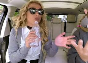britney spears sings her hits and spills her guts on carpool karaoke