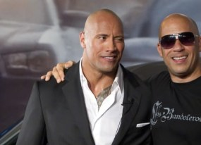 is the rock and vin diesel s feud really a wwe publicity stunt