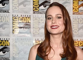 brie larson confirmed for captain marvel watch her comic con introduction