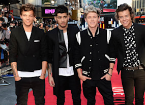one direction this is us world premiere directioners are brought to tears in london photos