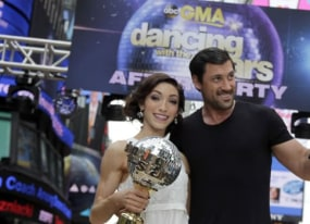 dancing with the stars maks is back amber rose ryan lochte rumored