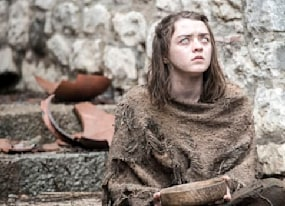 maisie williams warns game of thrones fans sh t gets real in season 7