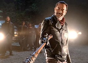 negan actor the walking dead cast all shocked over cliffhanger outrage
