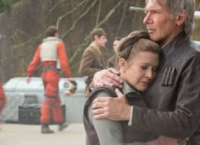 carrie fisher explains why han and amp leia broke up and it s hilarious