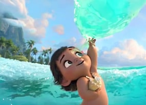 the international moana trailer is the cutest thing ever