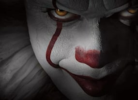 it movie wraps production with creepy pennywise photo