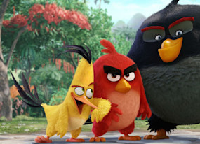 weekend box office angry birds flies to top spot nice guys disappoints