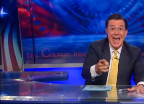 marvel s next captain america is stephen colbert no not really video