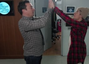 best of late night tv one direction s new band member and justin bieber s secret handshake