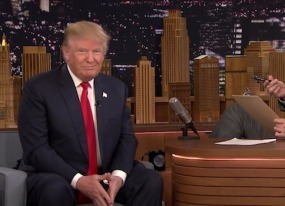 best of late night tv donald trump s job interview and morgan freeman s sexy voice