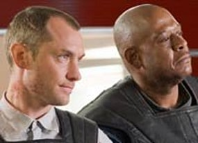 heart to hearts with repo men jude law and amp forest whitaker in exclusive video q and amp a