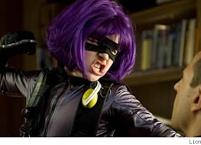 meet hit girl the coolest and most controversial superhero of the year