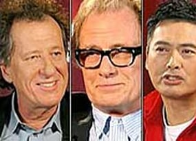 pirates of the caribbean geoffrey rush bill nighy and chow yun fat debate who would win in a fight