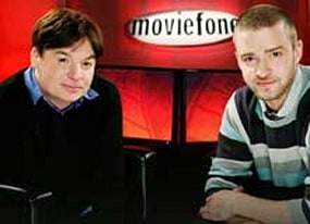 mike myers and amp justin timberlake on shrek the third