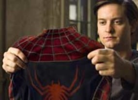 spider man 3 tobey maguire and topher grace spidey v venom