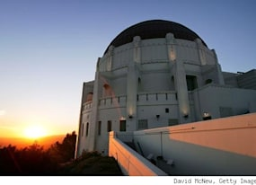 famous movie locations griffith observatory in rebel without a cause los angeles california