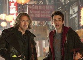 nicolas cage and jay baruchel on getting in trouble on the set of sorcerer s apprentice