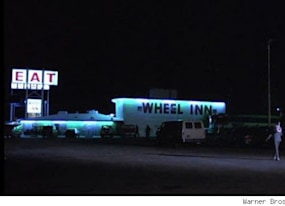 famous movie locations wheel inn restaurant from pee wee s big adventure cabazon california
