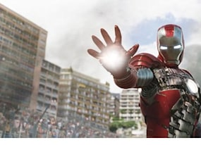 how tony stark s suit in iron man 2 was made